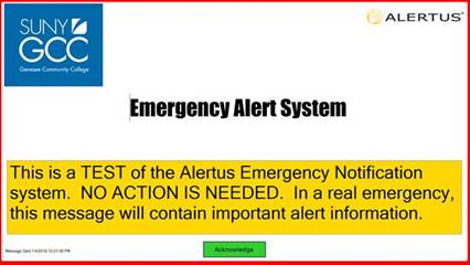 Alertus Screen
