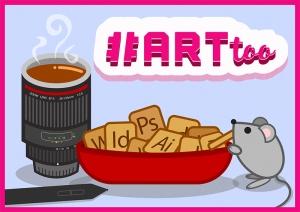 Art Too theme logo